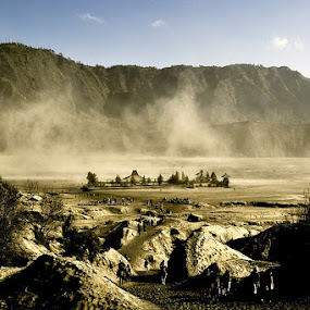 Pura Luhur vs Badai Pasir by Juang Rahmadillah - Landscapes Mountains & Hills ( travel, landscape )