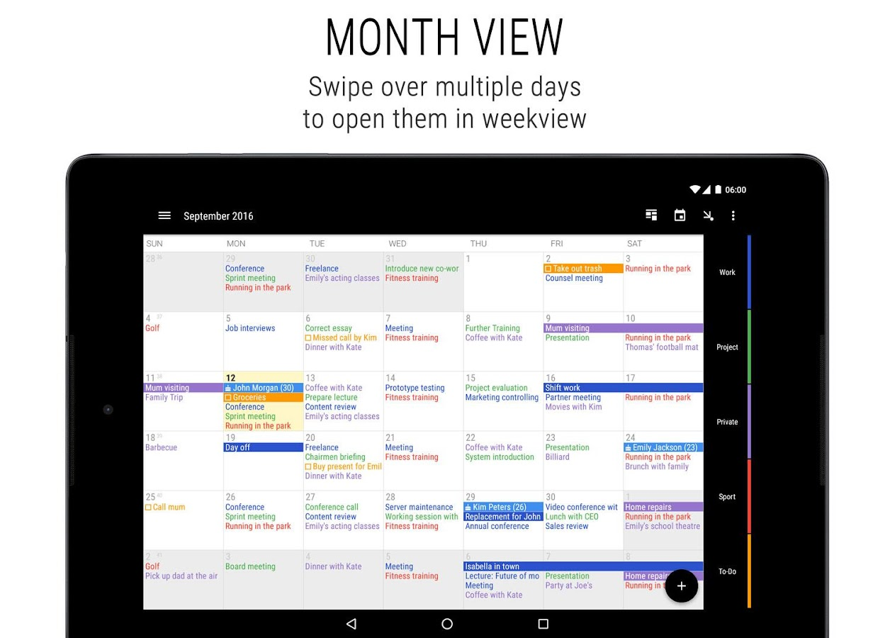 Business Calendar 2 Screenshot 8
