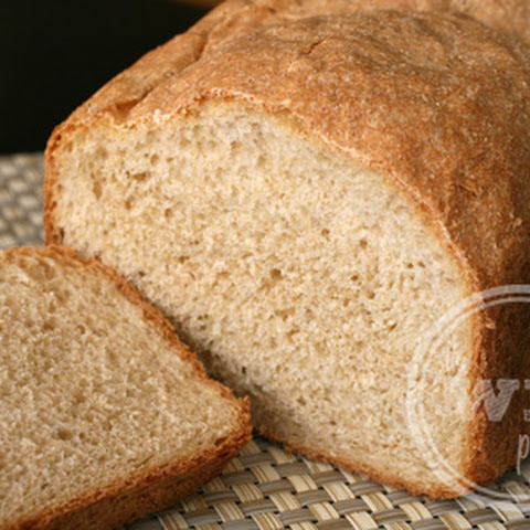 Simple Honey Whole Wheat Bread (Bread Machine Recipe)