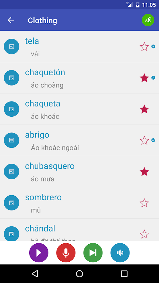 Learn Spanish 9000 Words Screenshot 2