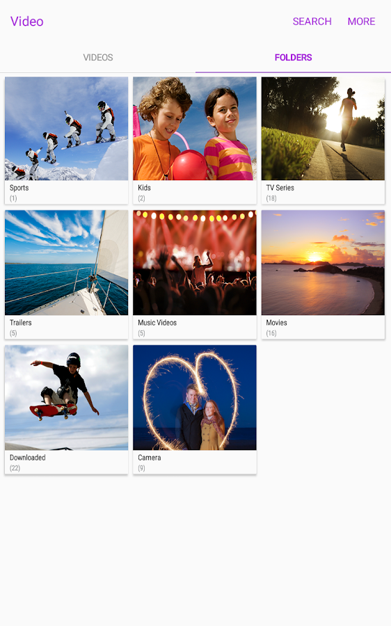 Samsung Video Library Screenshot 12