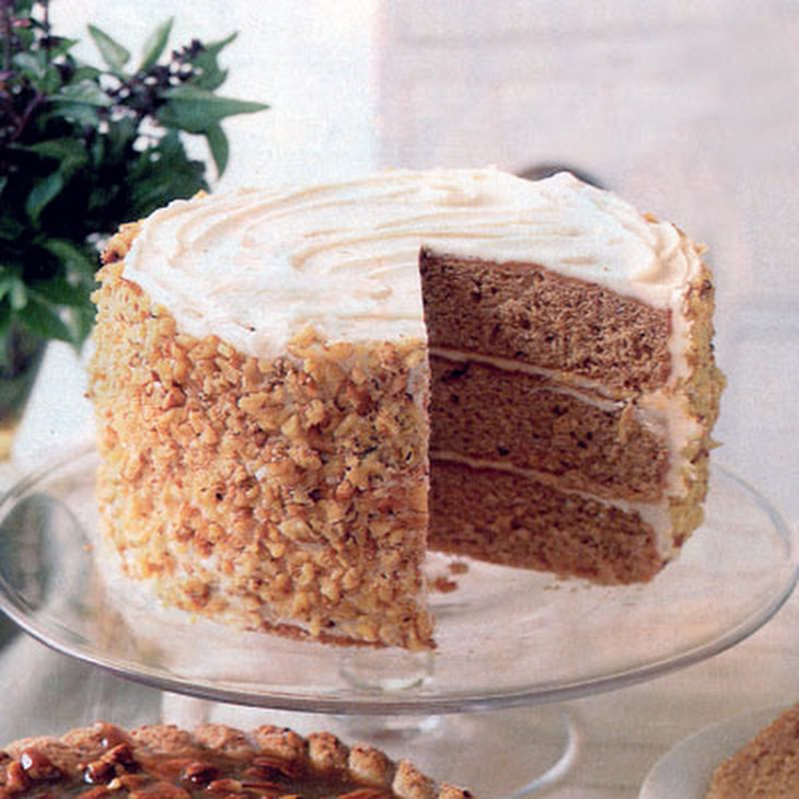 Spice Cake with Brown-Butter Frosting Recipe | Yummly