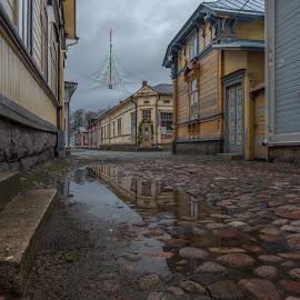 by Bojan Bilas - City,  Street & Park  Neighborhoods ( urban, urban exploration, suomi, fine art, finland, architecture, travel, city, rauma )