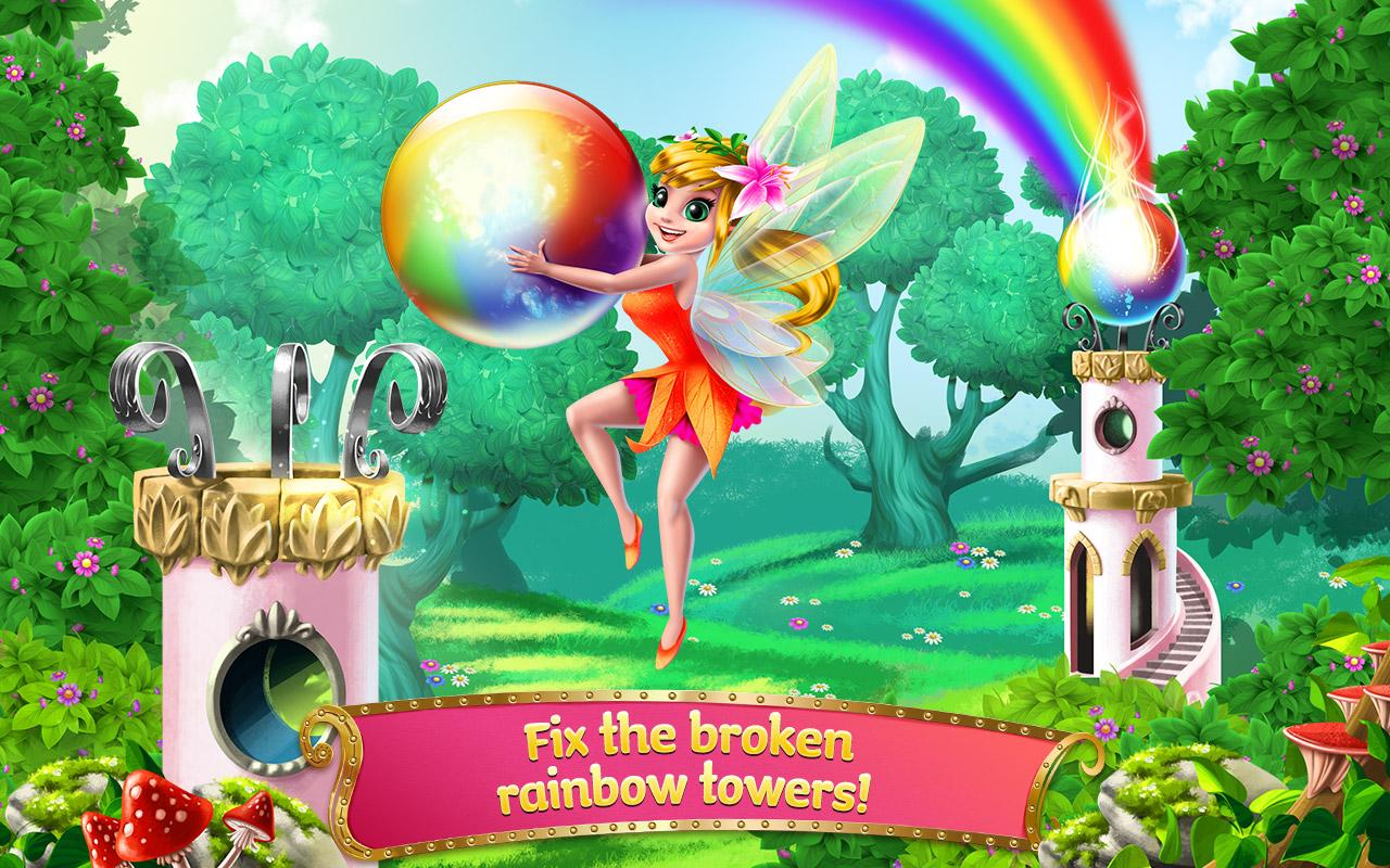 Princess Fairy Rush Screenshot 1