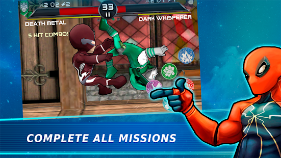 Superheros 3 Fighting Games APK for Bluestacks