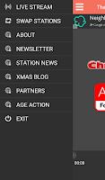 Screenshot of Christmas FM