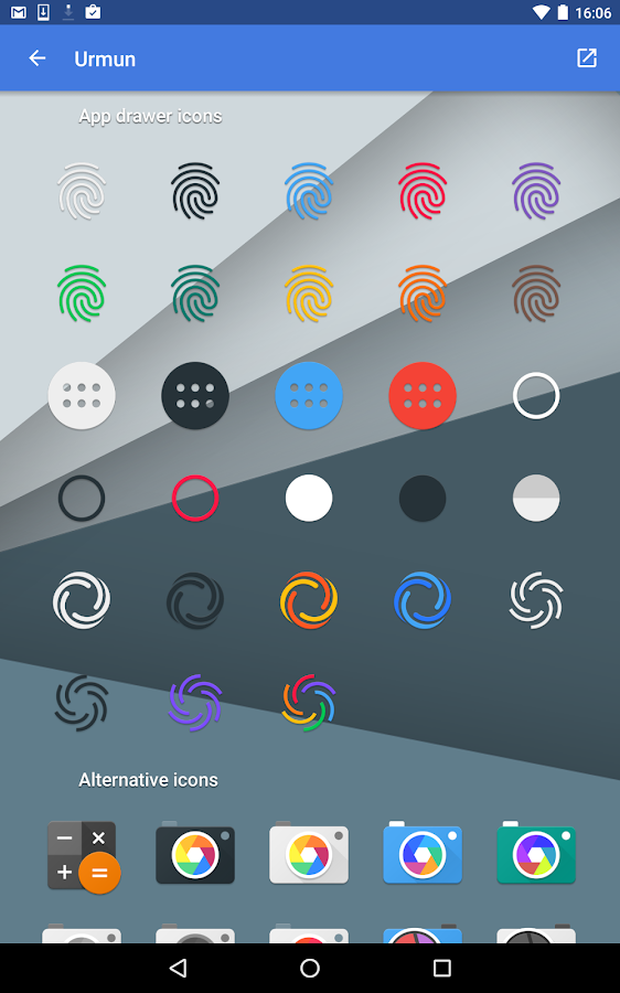 Urmun - Icon Pack Screenshot 12