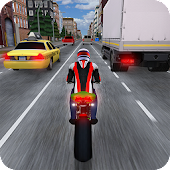Race the Traffic Moto APK for Bluestacks