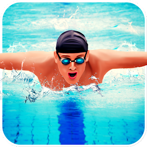 Real Pool Swimming Water Race 3d 2017 - Fun Game
