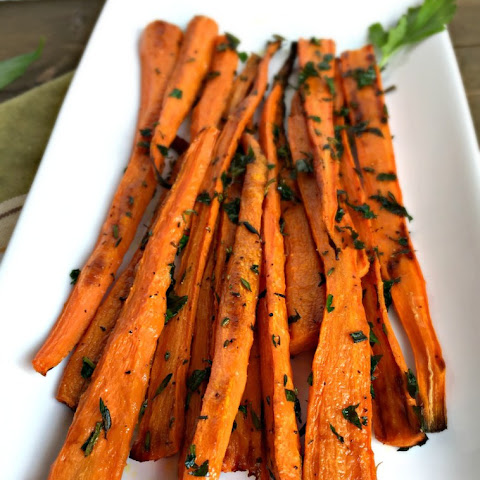 Roasted Carrots with Fresh Herbs