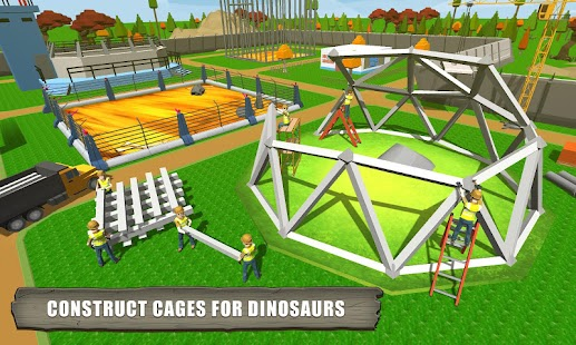 Jurassic Dinosaur Park Craft: Dino World