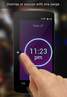 Screenshot of Neon Alarm Clock Free