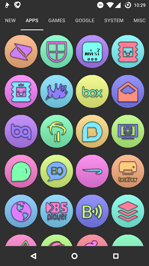Doug UI - Cartoon Icon Pack Screenshot 1