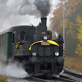 historic train by Standásek Hrubý - Transportation Trains