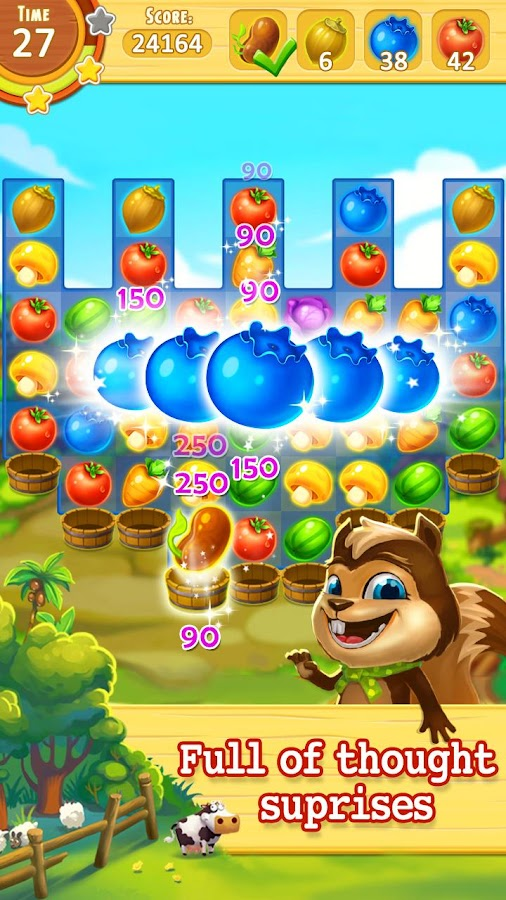 Harvest Mania - Match 3 Puzzle Screenshot