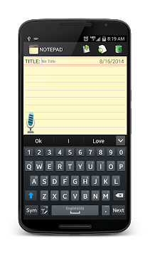 Notepad APK screenshot thumbnail 16