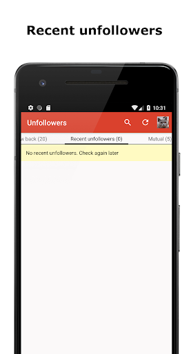 Unfollowers for Instagram app For PC