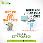 Sell old items online only at Extracarbon
