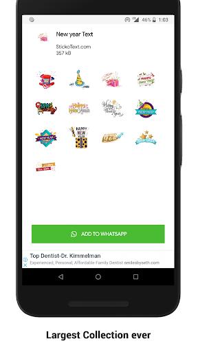 New Year Stickers (WAStickerApps) screenshot 3