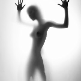 Nudes_05 by Abu Naser - Nudes & Boudoir Artistic Nude ( nude, black and white, silhouette, woman, nudes )