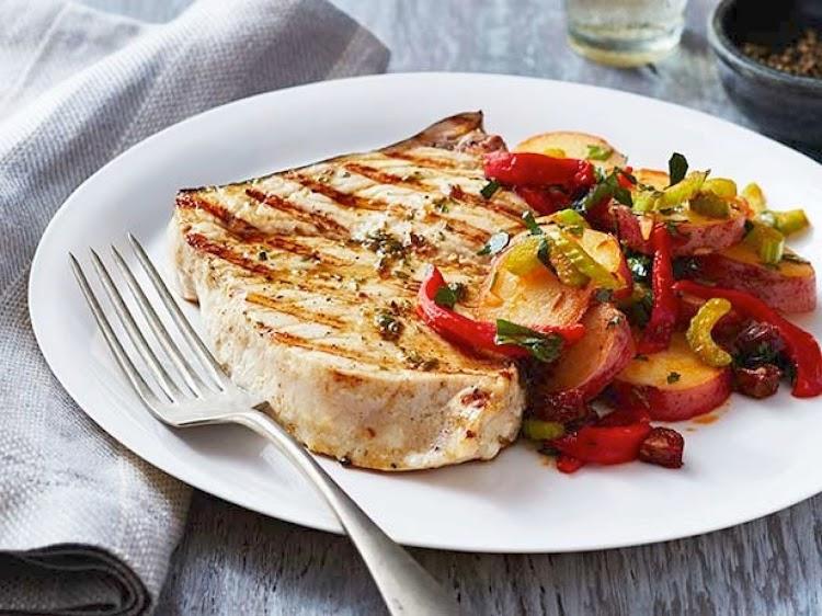 quick Fish Recipes Swordfish Siciliana