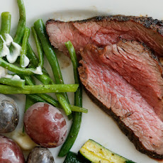 Grilled Tri-Tip Steak With Bell Pepper Salsa Recipes — Dishmaps