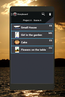 Storyboards2Go Storyboard App - screenshot