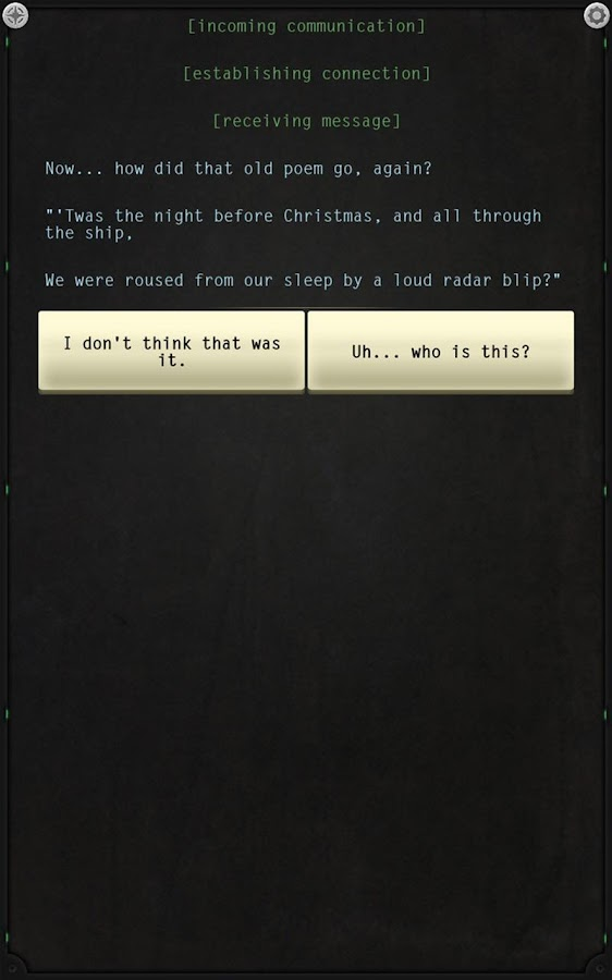 Lifeline: Silent Night Screenshot 2