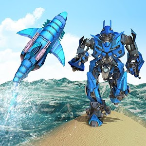 Download Warrior Robot Shark Game For PC Windows and Mac
