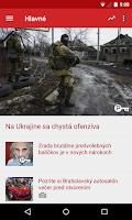 Screenshot of SME.sk