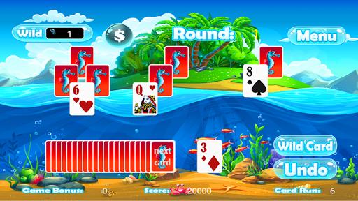 Tri Peaks Solitaire Classic - screenshot