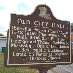 Iberville Parish Courthouse, 1848-1906; Plaquemine City Hall, 1906-85. Built by George and Thomas Weldon of Mississippi. One of Louisiana's oldest public buildings. Listed on National Register of ...