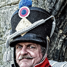 French Fusilier by Steve Knight - People Portraits of Men