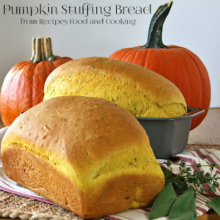 Pumpkin Stuffing Bread
