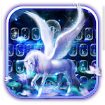 Graceful Alicorn Keyboard Theme Icon