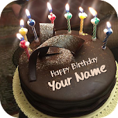 Name On Birthday Cake