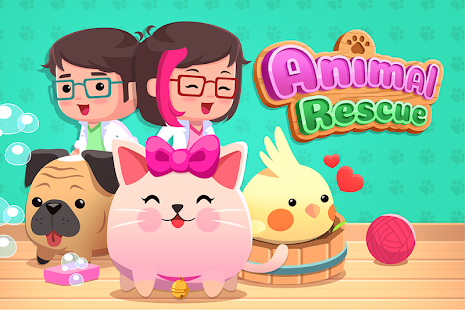 Animal Rescue - Pet Shop and Animal Care Game