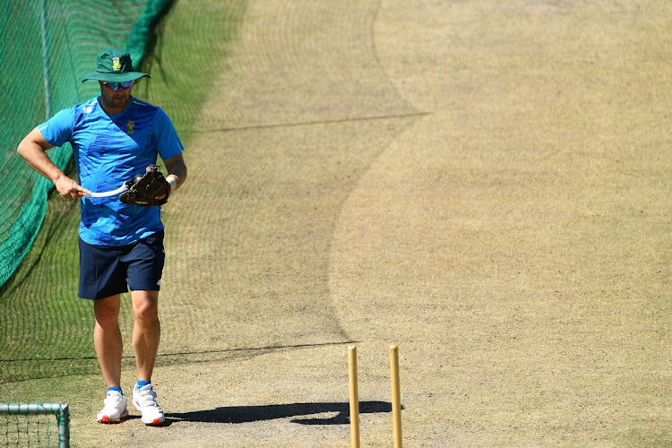 South African cricket coach, Mark Boucher during a team training session at Six Gun Grill in Newlands, Cape Town. File photo: GALLO IMAGES/ASHLEY VLOTMAN
