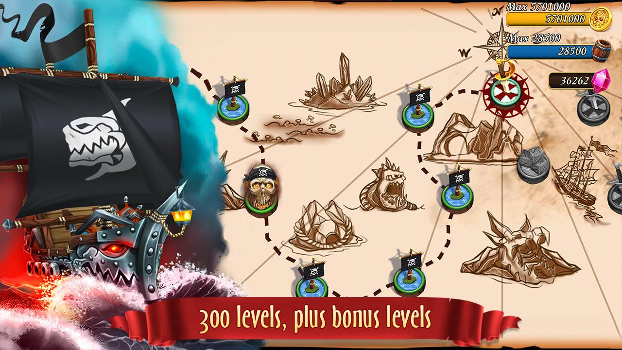 Pirate Battles: Corsairs Bay Screenshot 2