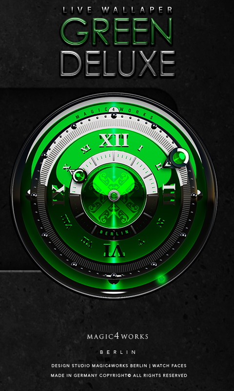 Deluxe Clock Bundle LWP Screenshot 6