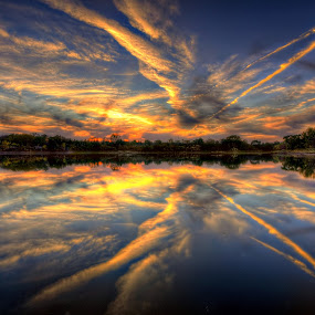 by DE Grabenstein - Landscapes Sunsets & Sunrises ( clouds, sky )