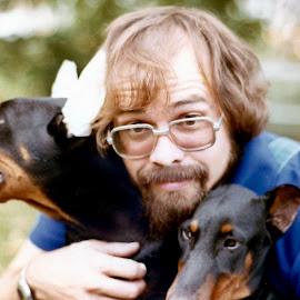 by Jennifer  Loper  - Animals - Dogs Puppies ( beard,  )