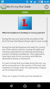 Driving Test Guide - screenshot