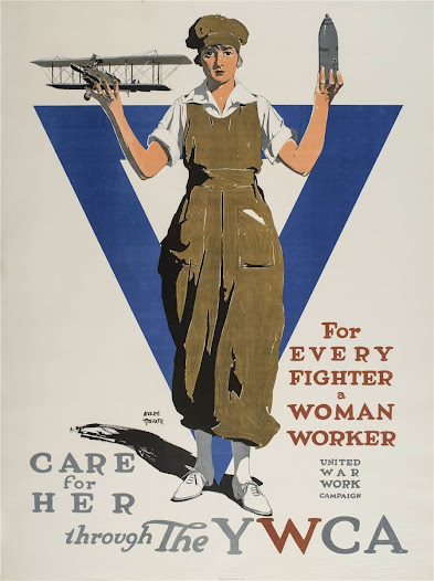As more men joined up, women entered the work force in the defense industries and military support jobs. The work was dirty, dangerous, and physically demanding.
