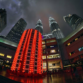KLCC by Max Lye - Buildings & Architecture Other Exteriors ( awesome, klcc park, malaysia, kuala lumpur, nightscape )