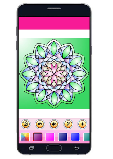 Pictures Of Mandala Coloring Book Apk 1