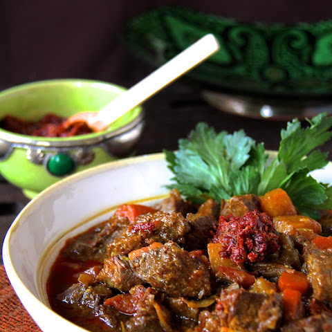 My Mom's Moroccan Beef Stew