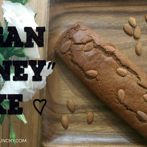 Vegan Honey Cake | Rosh Hashanah Desserts