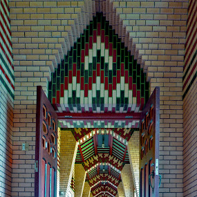 Multicolored Monestary by Olga Charny - Buildings & Architecture Other Interior ( pwcopendoors )