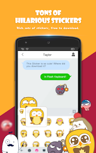 Flash-Tastatur - Emoji & Theme android apps download